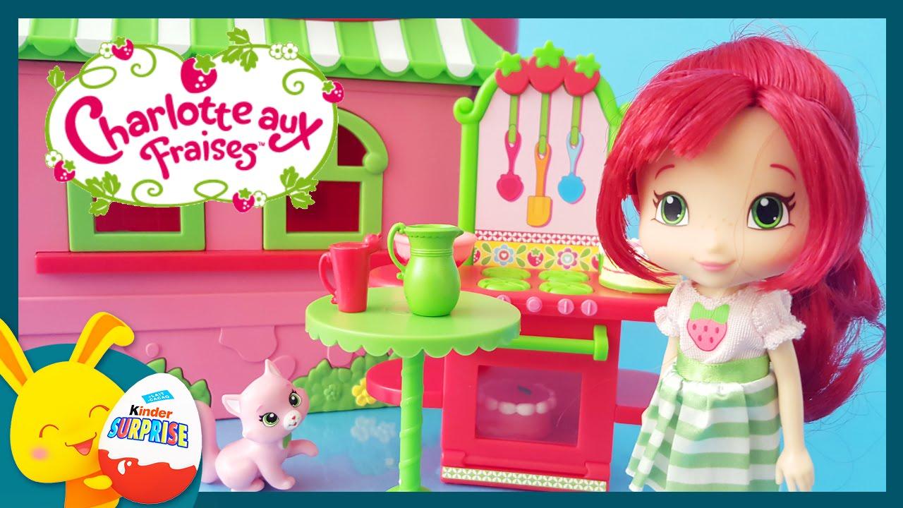 Charlotte aux fraises en francais jouet pour enfants titounis youtube - Dessin charlotte aux fraises ...