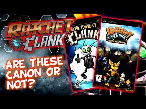 Are Secret Agent Clank & Ratchet & Clank Size Matters Canon? Apparently They Are!