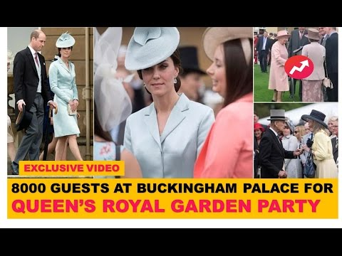 Queen Royal  Garden Party at Buckingham Palace