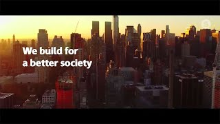 The Skanska purpose: We build for a better society