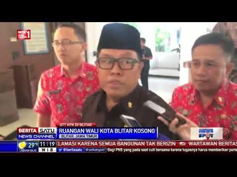 Pasca OTT KPK, Wali Kota Blitar Tidak Hadiri Apel Pengamanan