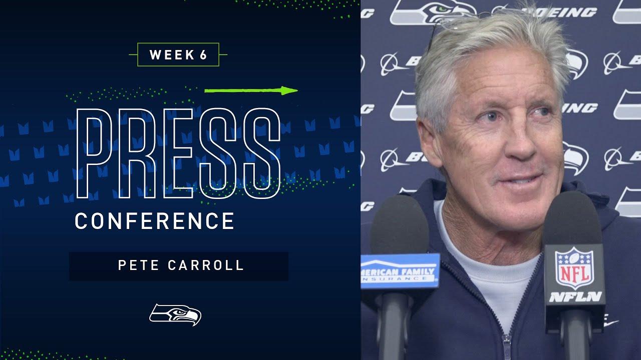 Head Coach Pete Carroll Week 6 Friday Press Conference | 2019 Seattle Seahawks