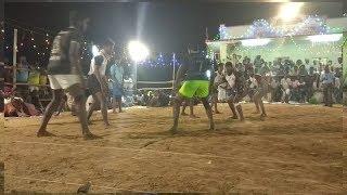 VADUVUR Sevan Salamanders vs KALLAMPATTI Guna Brothers best defensive kabaddi match