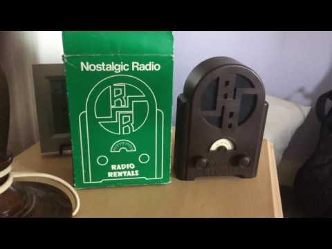 Radio rentals nostalgic radio from 1990