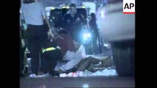 USA: ATLANTA: Olympic Centennial Park Bomb Explosion - 1996