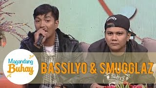 Magandang Buhay: Smugglaz and Bassilyo share their stories to Momshies through rap