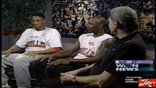 MICHAEL JORDAN, PHIL JACKSON & SCOTTIE PIPPEN REFLECT ON THE CHICAGO BULLS 1990S DYNASTY