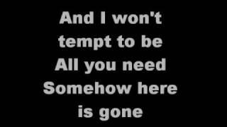 here is gone by Goo Goo Dolls lyrics