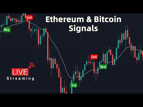 Live Bitcoin & Ethereum Signals | ETH | BTC | Free Market Cipher - Live Streaming