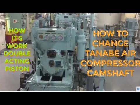 TANABE AIR COMPRESSOR DEFECTIVE CAMSHAFT