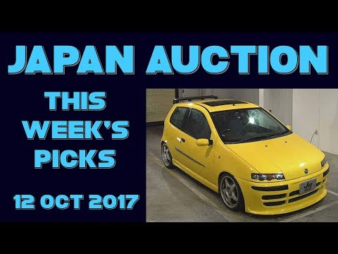 Japan Weekly Auction Picks 041 - 12 Oct 17