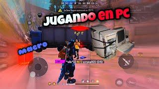 Jugando en PC Por PRIMERA VEZ | Free Fire en PC de Bajos Recursos