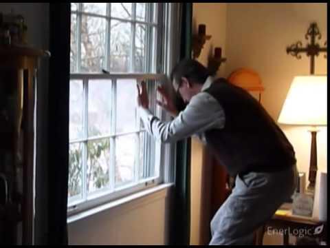 Enerlogic Energy Saving Window Film Thermography Video