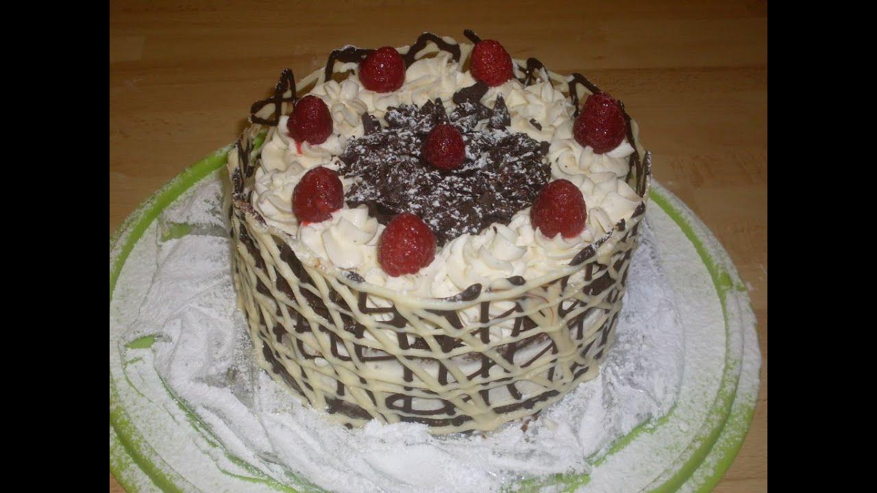 Gateau anniversaire creme vanille