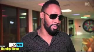 rza of wu tang clan drops a crazy freestyle in the middle of mtv interview