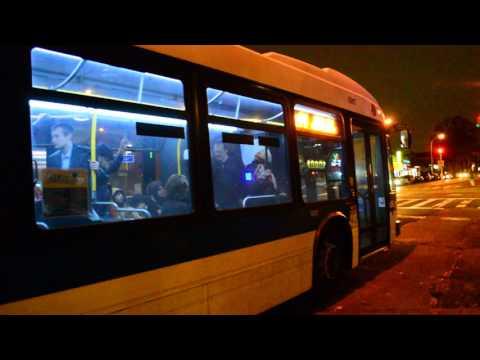 MTA New York City Bus 2012 Nova Bus LFS Artic 5917 On The Q44 Limited @ Main Street & Jewel Avenue
