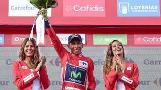 Nairo Quintana 20ª Etapa Vuelta España 2016 (Benidorm - Alto de Aitana) HD 1080