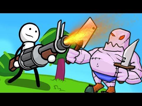 СТИКМЕН СНОВА В ДЕЛЕ! ► One Gun Stickman