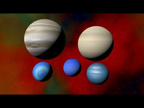 What Happens If We Remove Then Re-Add Hydrogen On The Gas Giants, Universe Sandbox ²