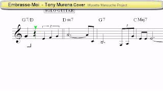 Embrasse-Moi (Tony Murena Cover) - Accordion Sheet music