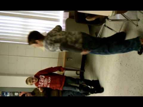 Todd Armstrong dancing