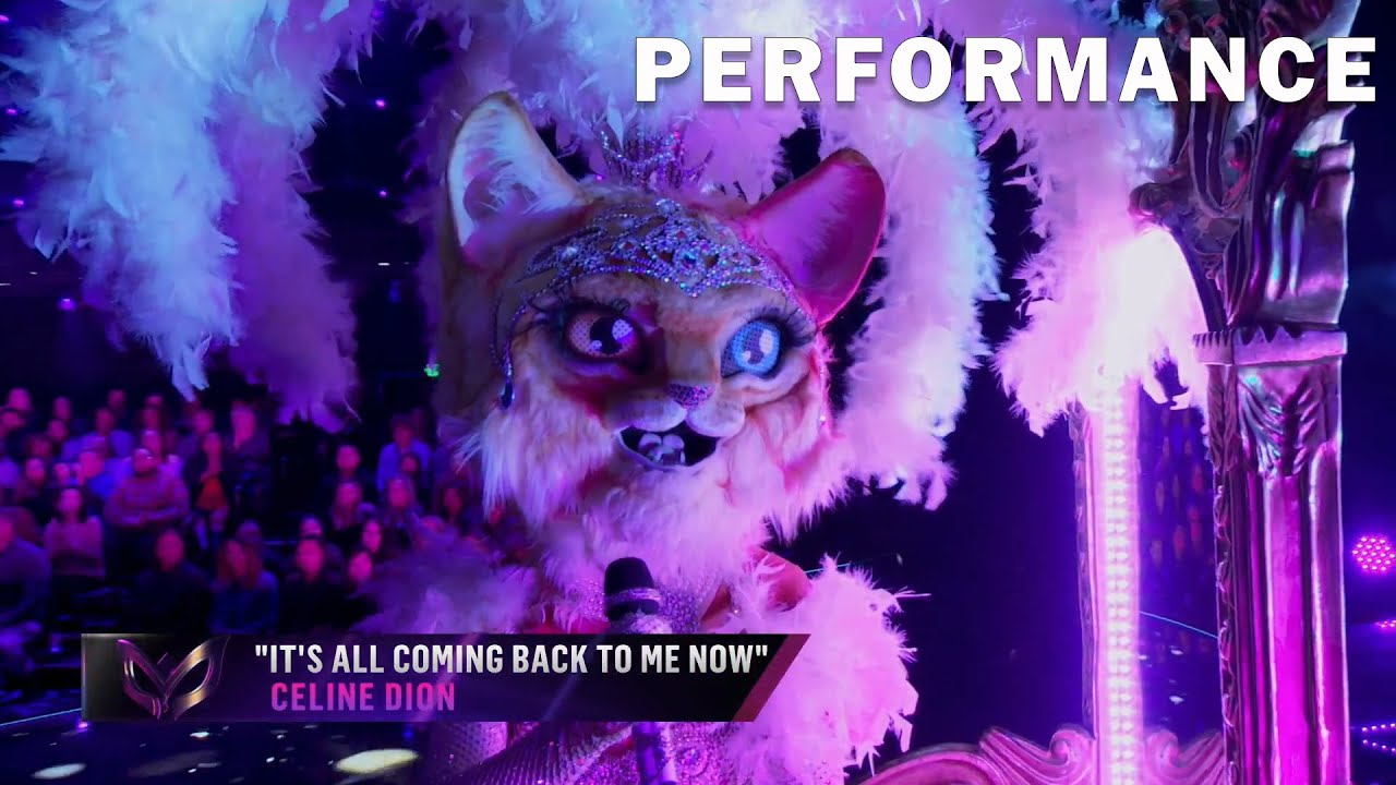 Kitty Sings It S All Coming Back To Me Now Be Celine Dion The Masked Singer Season 3 Youtube Celine Dion Singer Singing