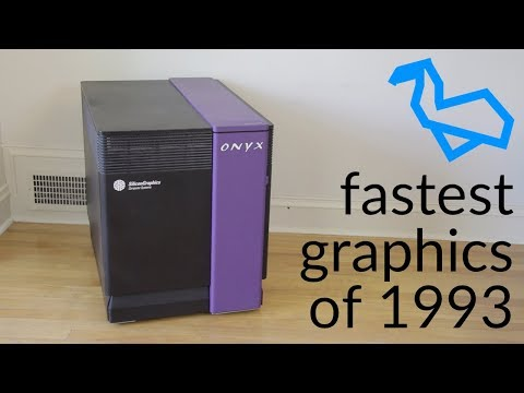SGI's $250,000 Graphics Supercomputer from 1993 - Silicon Graphics Onyx RealityEngine²
