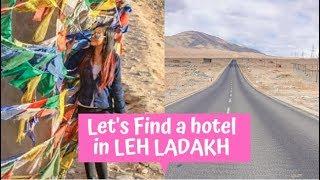 Leh Ladakh April 2019   Flight, Hotel, Cafes and Main Bazaar
