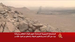 أضرار كبيرة لحقت بمدينة تدمر الأثرية