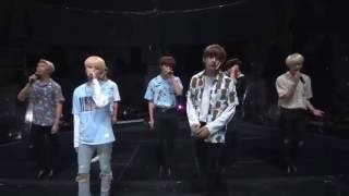 160801 bts kcon in la young forever fire