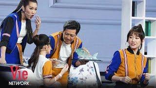 Trường Giang Hả Hê Khi Lừa Hoàng Yến Chibi Và Hari Won Cạp Sắt Vụn | Hài Ô Hay Gì Thế Này [Full HD]