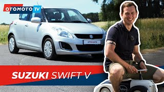 Suzuki Swift V (2014) 1.2 VVT - Idealny do miasta? | Test i Recenzja OTOMOTO