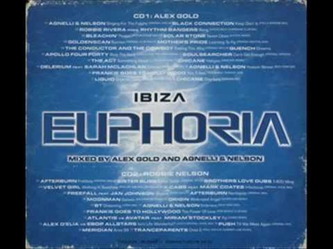 ibiza euphoria mixed  :alex gold cd1
