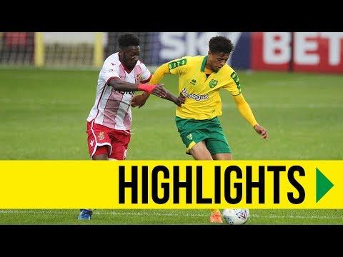 HIGHLIGHTS: Stevenage 2-2 Norwich City