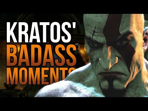Kratos' Top 5 Badass Moments (God of War)