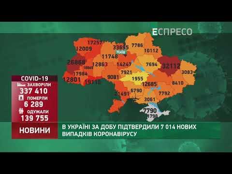 Espreso.TV: Коронавірус в Україні: статистика за 24 жовтня