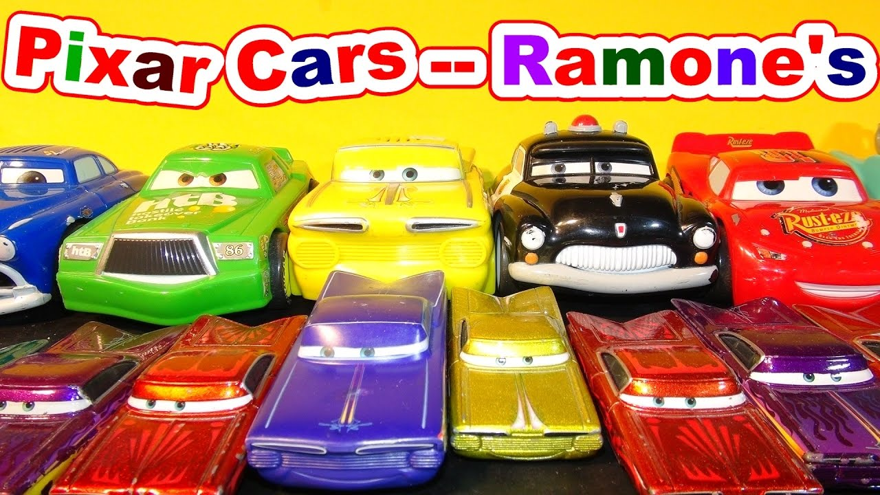 Disney Pixar Cars Ramone Andlightning Mcqueen From The Cars