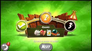 Beat The Daily Challenge King Pig Panic Completed in Angry Birds 2 Thursday ( 2 )