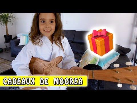 CADEAUX ET SOUVENIRS : Ce que les enfants ont rapporté de Moorea  / Family vlog