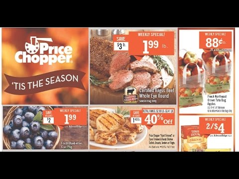 next week's price chopper flyer from november 6 to 12 2016
