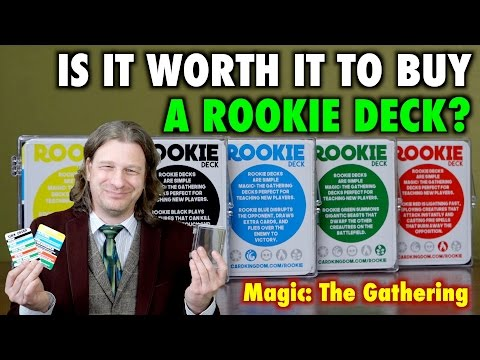 MTG - Is it worth it to buy a Rookie Deck for learning Magic: The Gathering?
