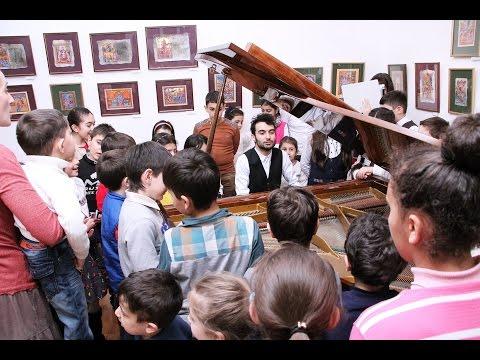 Դաշնամուրի հայկական հնչյունները | Piano's Armenian Sounds