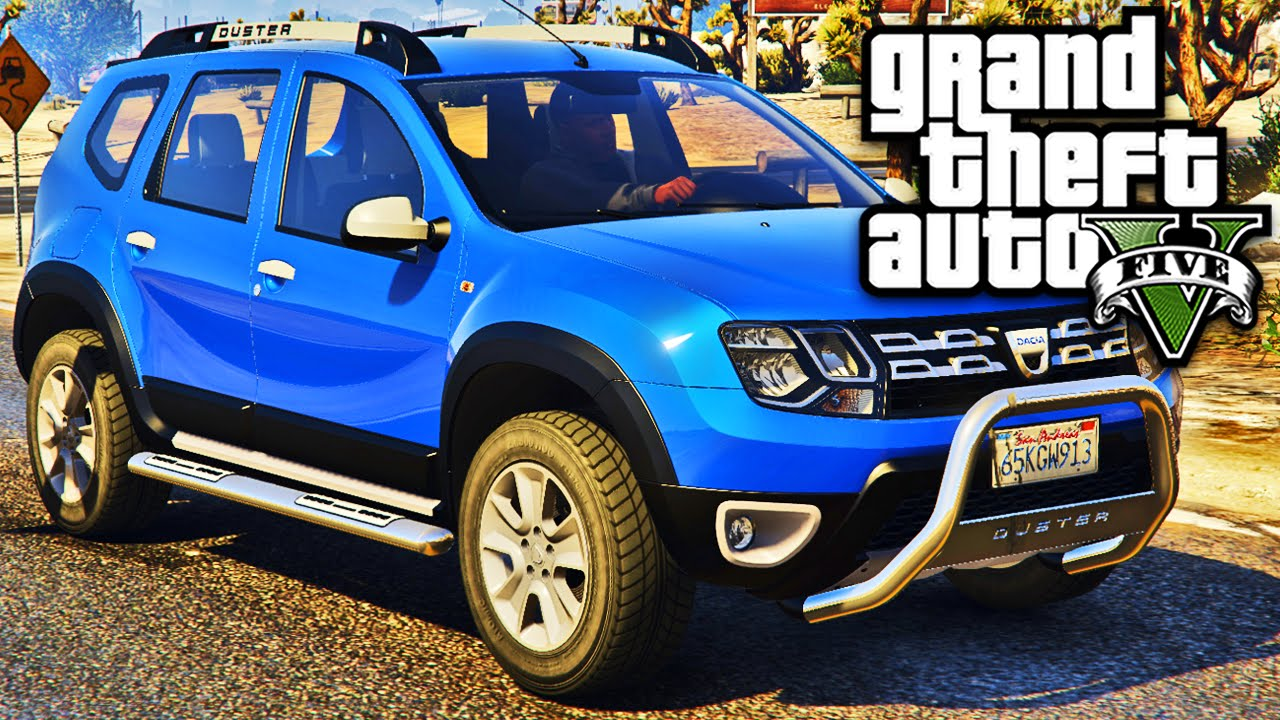 gta 5 carro renault duster tuning youtube. Black Bedroom Furniture Sets. Home Design Ideas