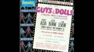 Guys and Dolls Original Broadway - Sit Down You