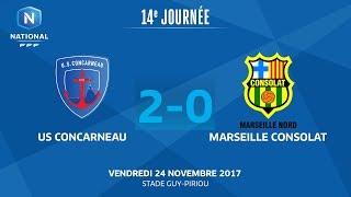 Concarneau vs Marseille Consolat full match
