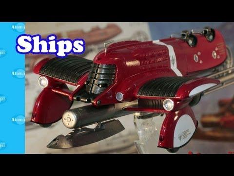 Sci-Fi Spaceship Models Nuremberg Toy Fair