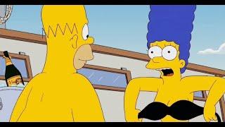 Симпсоны - Мардж жарко (Нарезки и смешные моменты)