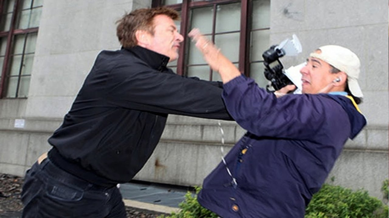 Alec Baldwin Hounded By Paparazzi For Being RACIST YouTube