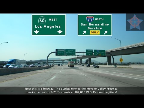 (S06 EP08) I-215 North, Murrieta to Riverside