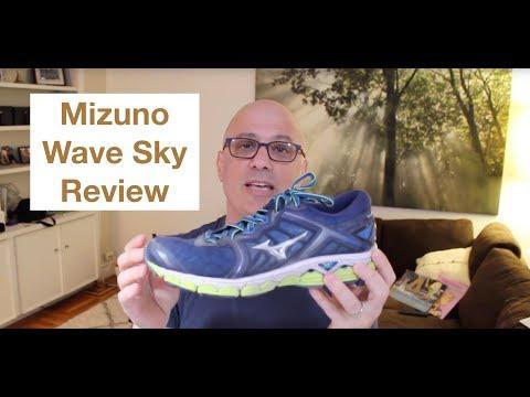 mizuno wave sky 2 fit youtube
